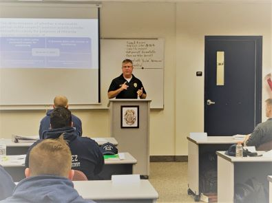 State Attorney's Office Teaches Local Law Enforcement Recruits