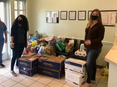 Employees Collect Supplies for Local Youth Shelter