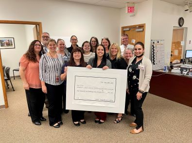 Employees Raise $1,233.04 in Honor of National Child Abuse Prevention Month